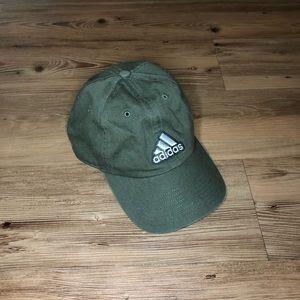 Olive adidas hat